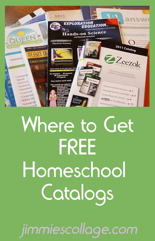 Where to Get Free Homeschool Catalogs and ways you can use them for your homeschool without actually buying anything.
