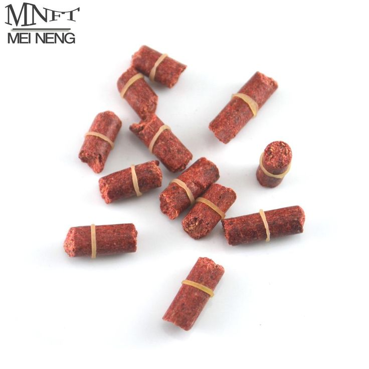 [Visit to Buy] MNFT Red Carp Smell Lure Carp, Crucian ,Grass Carp Fishing Baits Insect Formula Particle With S,L Sizes Available #Advertisement