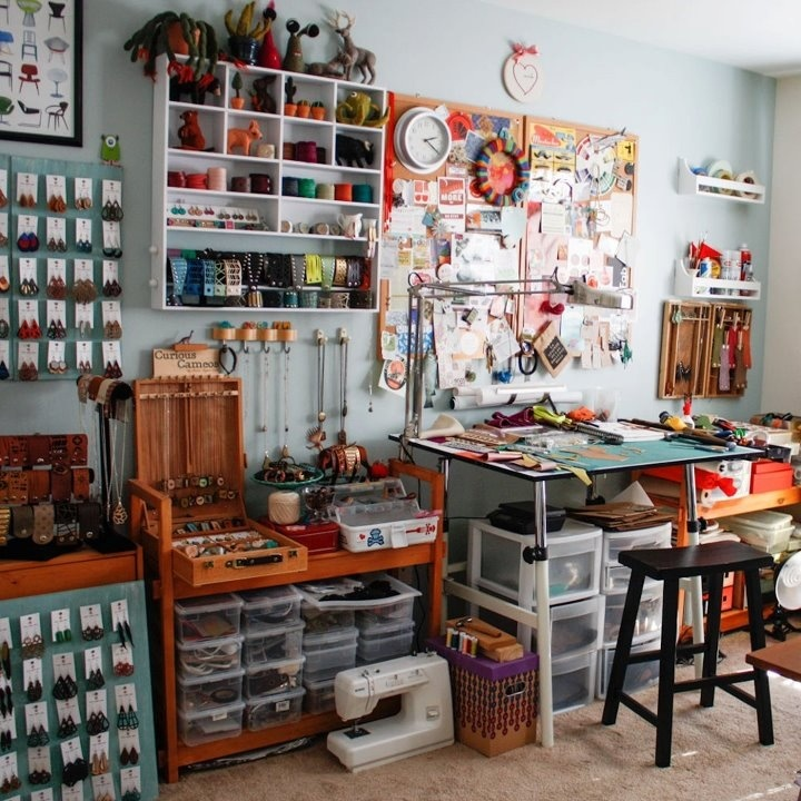 Love this studio set up by I Am Sam