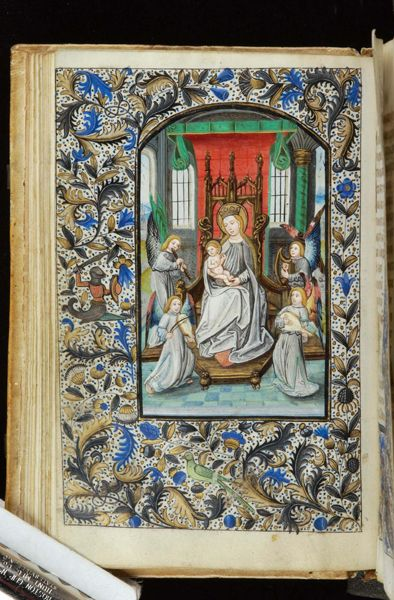 Book of Hours, MS H.7 fol. 26v - Images from Medieval and Renaissance Manuscripts - The Morgan Library & Museum