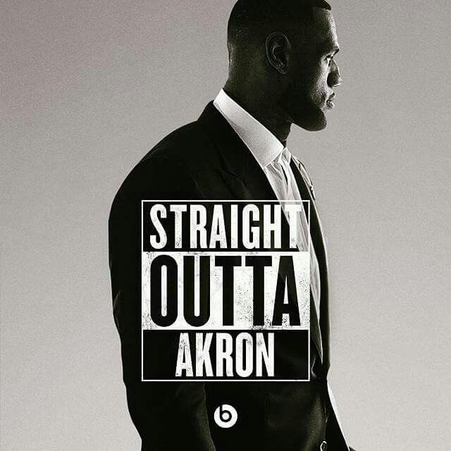 Me, too!  Straight outta Akron!  And we're so proud of Lebron!