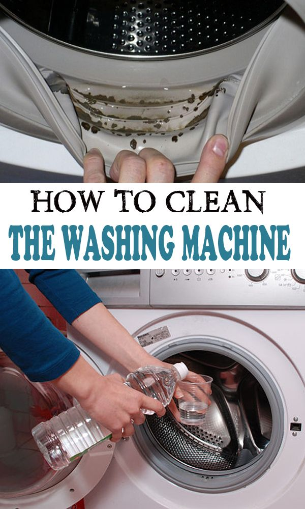 How to clean the washing machine ==