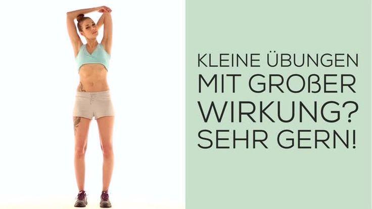 Video: Fit in den Frühling? Hier kommen einfache, aber effektive Übungen, auch für Fitnessmuffel geeignet!