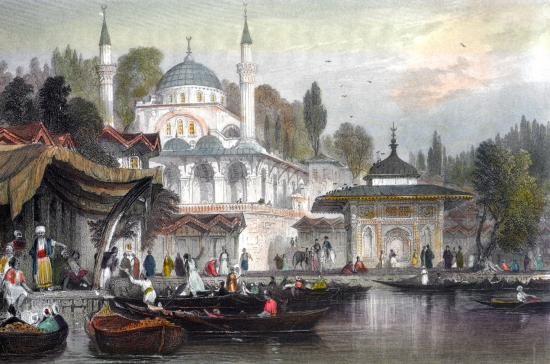 ORHAN YILDIZ - Eski istanbul Cizimleri