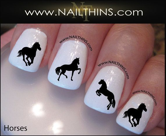 Hey, I found this really awesome Etsy listing at http://www.etsy.com/listing/159675645/horse-nail-decal-horses-nail-art-designs