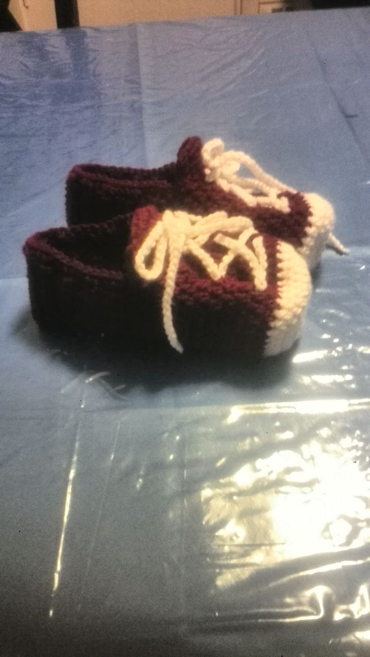 Just finished these Booty slippers and sneaker slippers all for adults