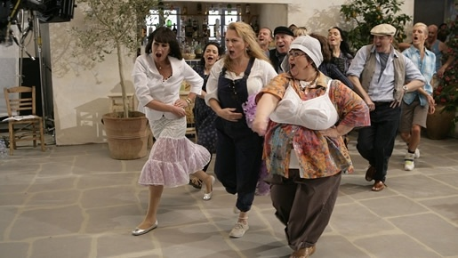 Mama Mia - French and Saunders do their thing for Red Nose Day 2009.