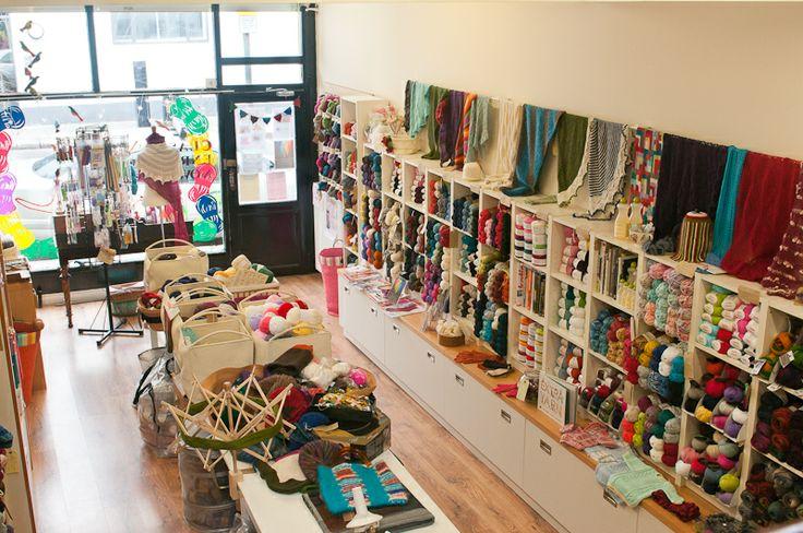 The Constant Knitter yarnshop, Dublin