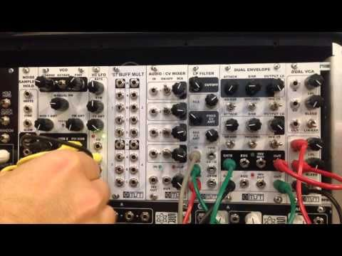 Synthrotek MST VCO Voltage Controlled Oscillator Eurorack Modular Demo - YouTube