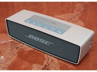 Bose SoundLink Mini: $199. They make a more expensive model. But I like the one Kristen has, and I suspect it is less expensive. Also like the Jawbone version.