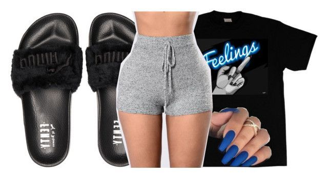 """""""Untitled #2485"""" by kayla77johnson ❤ liked on Polyvore featuring Puma"""