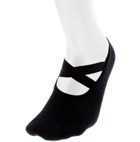 Complete your outfit from head to toe with this studio must-have, the CALIA™ by Carrie Underwood Grip Ballet Sock. This extremely comfortable sock is made of soft bamboo fibers and a seamless toe delivering an exceptional lightweight feel. Elastic, stretch bands placed across the top and comfort binding located around your foot ensure socks stay secure during quick and intense movements. Perfect your technique in the Grip Ballet Sock.