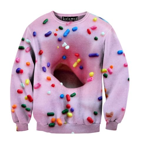 Pink Doughnut Sweatshirt - OMMMMMMG! This is a must! @Cortnie Wahl Littlefield @Anna Faunce Harding