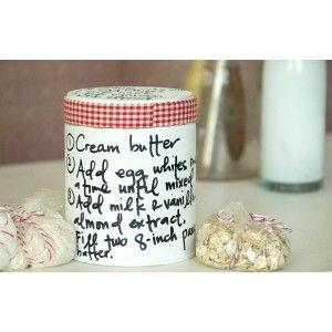 Recipe Tins Project by Vanessa Spencer and Christen Olivarez