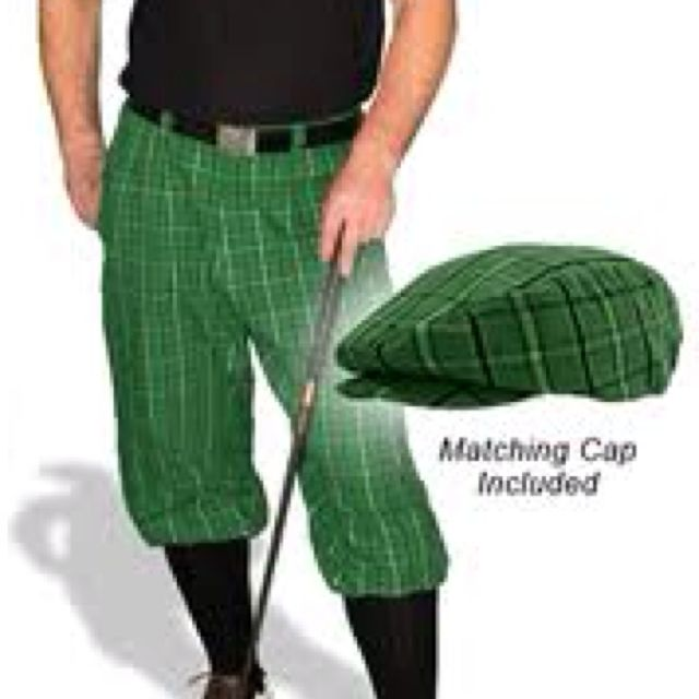 Mens Fashion Golf Pants