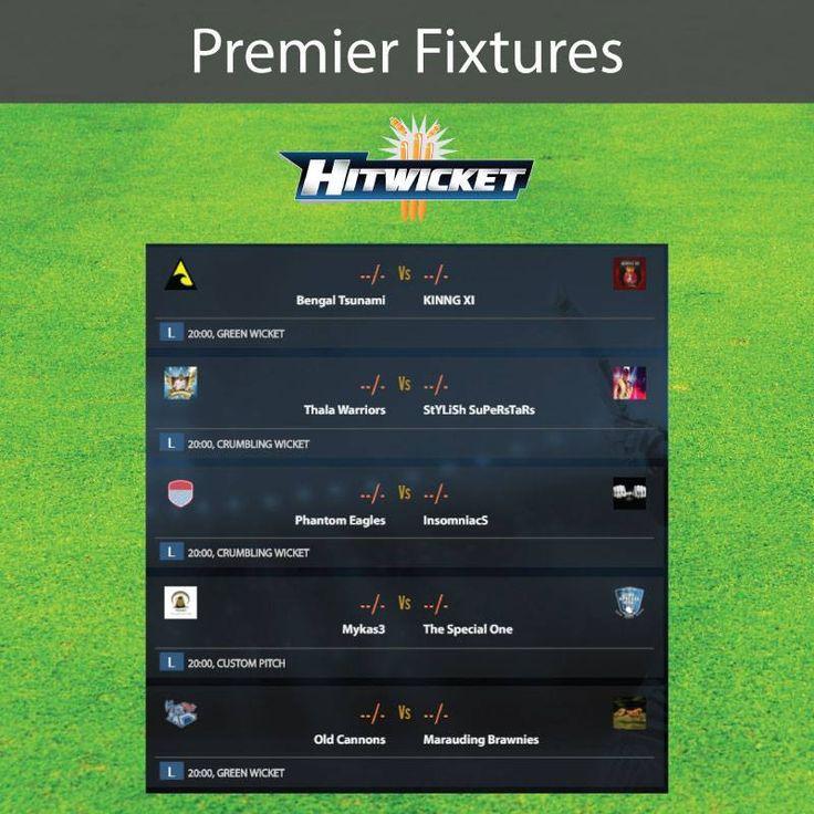 Premier fixtures. Last match!  #cricket #cricketgam #hitwicket