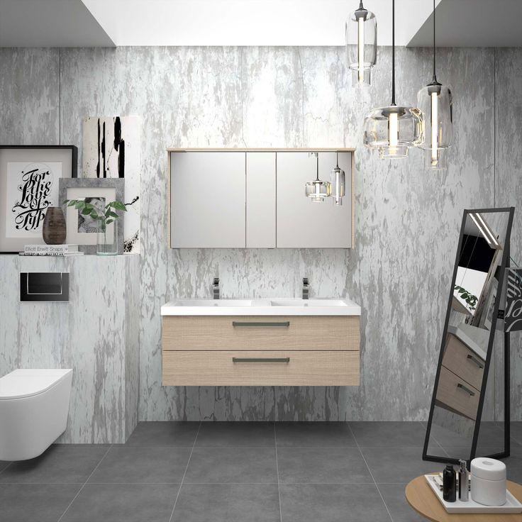 38 best images about meubles de salle de bain on pinterest sa feelings and 16 for Cedam salle de bain