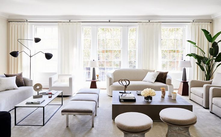 Layout ideas for long rectangular room | Luxury living ...