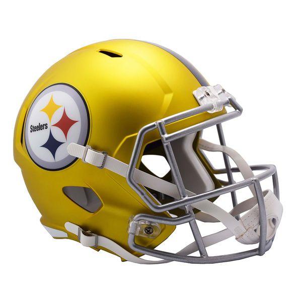 Riddell Pittsburgh Steelers Blaze Revolution Speed Full-Size Replica Football Helmet - $189.99