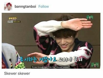 Jungkook's love for lamb skewer is eternity visit today!