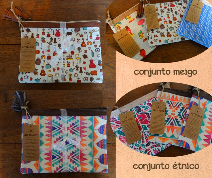 Zip pouch by Art Brasilis. Available exclusively at http://kulturebox.co.za in South Africa. #fairtrade #exclusive #southafrica