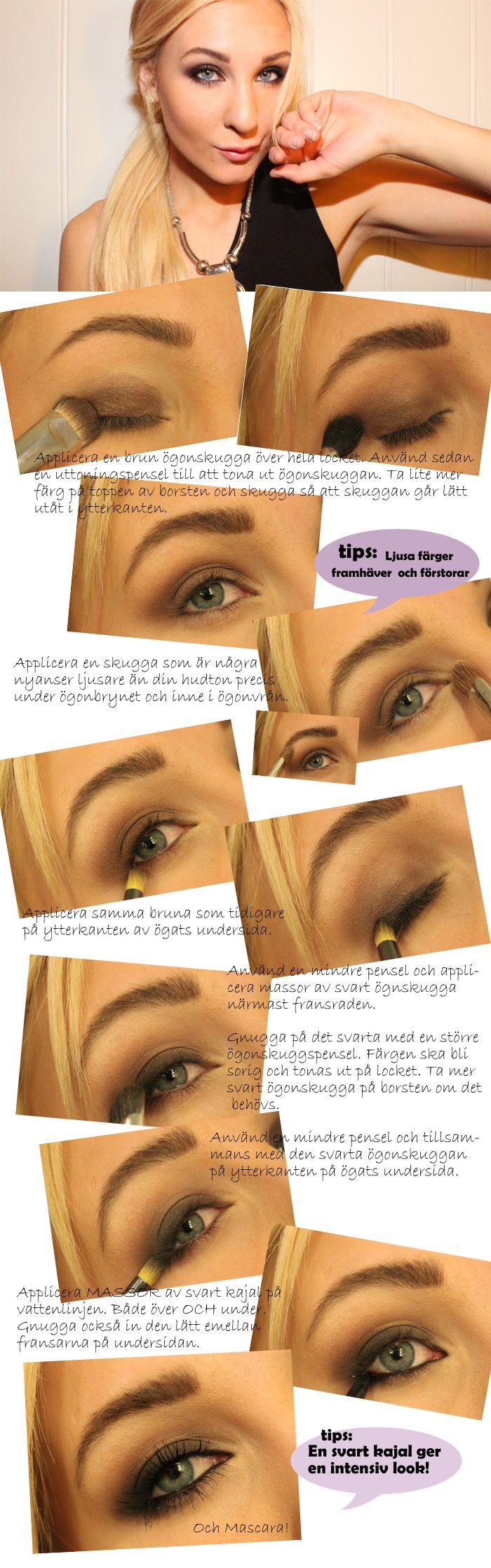 Mila Kunis sotade ögon steg för steg! | Helen Torsgården – Hiilens sminkblogg mila kunis inspired makeup