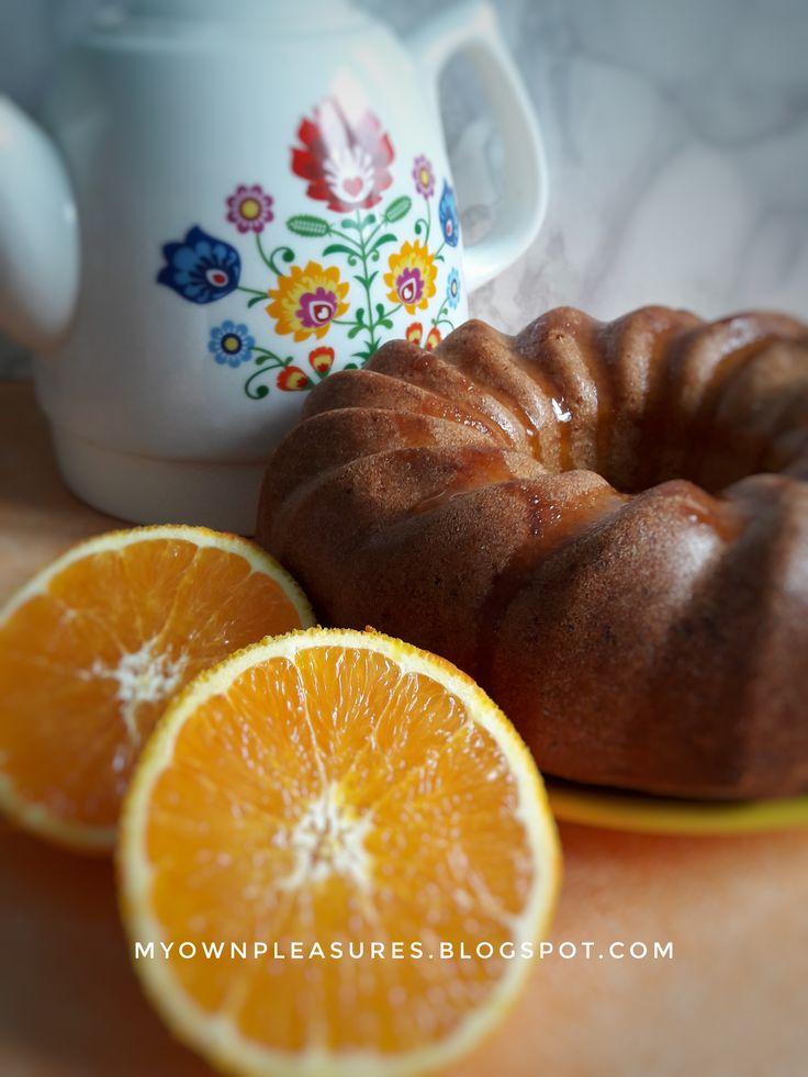 Babka pomarańczowa z mąki orkiszowej, przepis