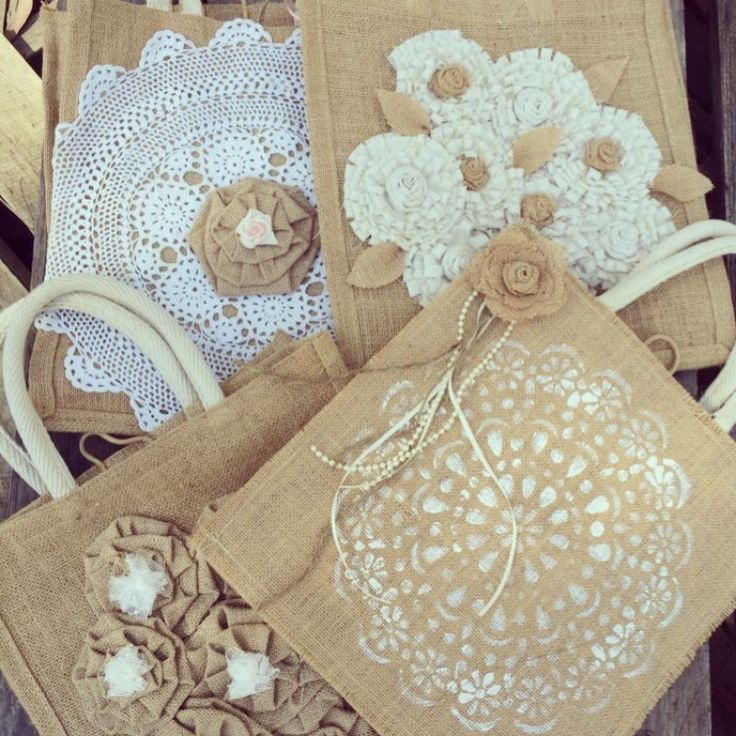 Bridesmaid bags, to fill for that special friend!