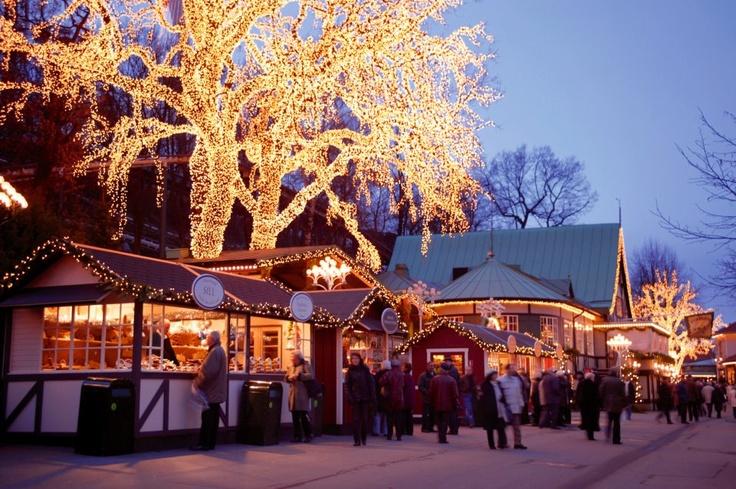 The Famous Liseberg Christmas market