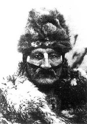 Tenenésk, chamán y sabio que dirigió el hain selk'nam de 1923.