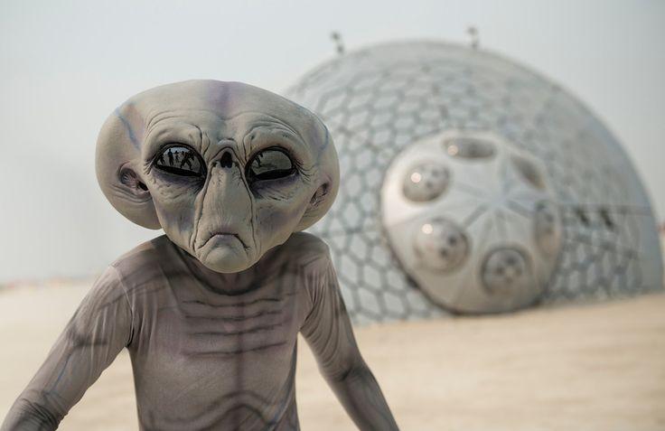 The Alien Crash Site
