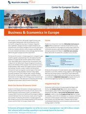 Business & Economics in Europe