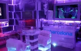 IceBarcelona, the only Ice Bar on the beach ~ Barcelona, Spain