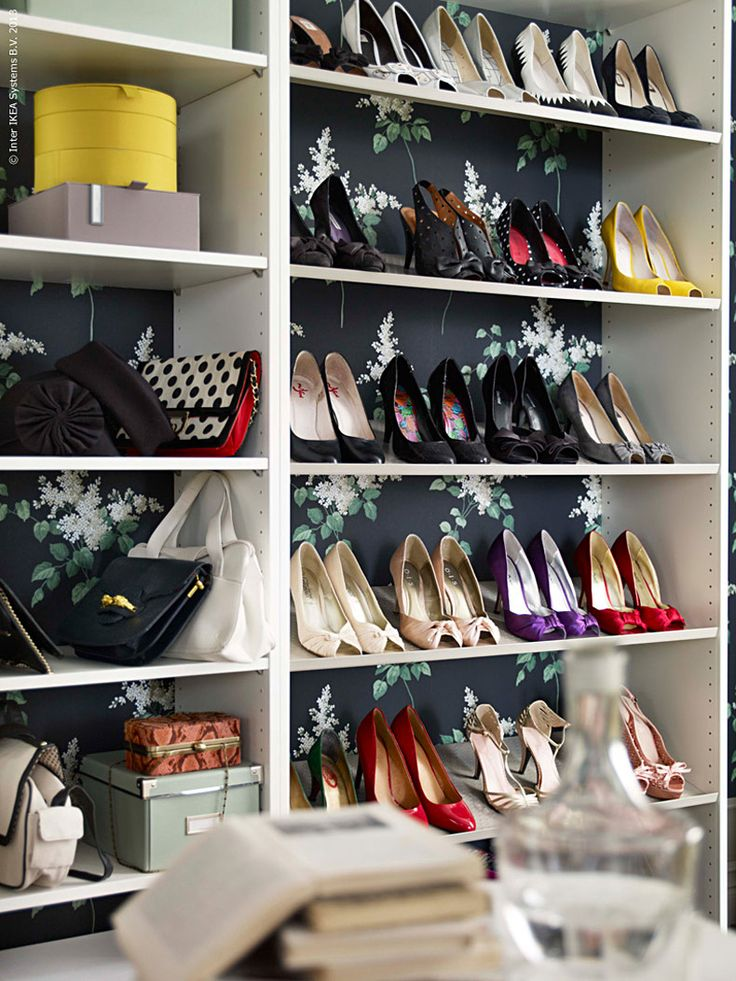 IKEA bedroom storage Organize your shoes