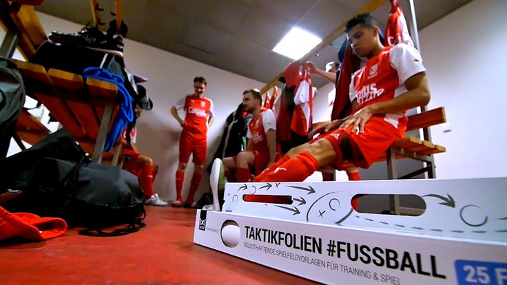 Kabine #Fussball #Taktikfolie #Soccer #Football #Taktik #Tactics #
