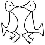 Taino symbol for eternal lovers
