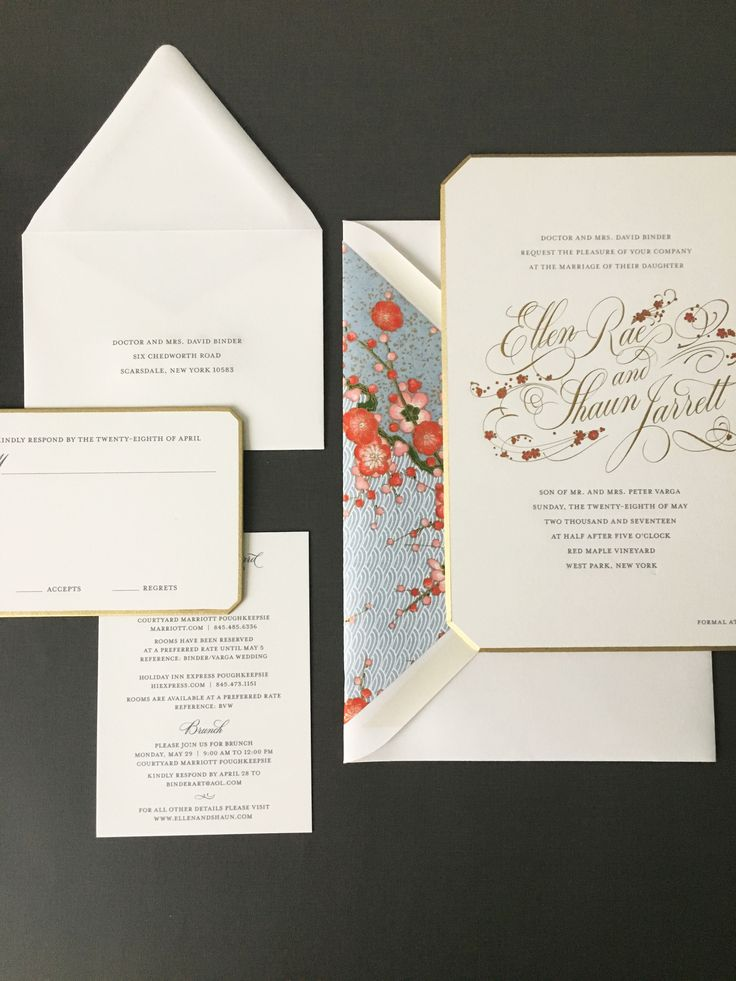 addressing wedding invitations married woman doctor%0A In Bloom  weddinginvitation  weddingsuite  liner  chedworthcrtns Loved  Creating this suite with Bell