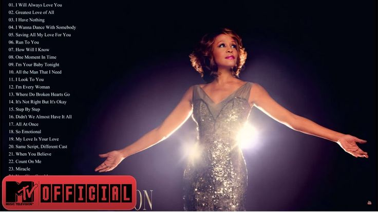 Whitney Houston Greatest Hits - Best Songs Of Whitney Houston! : ) XO