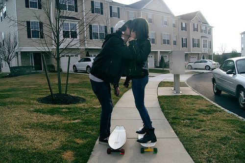 Cute skater couple <3