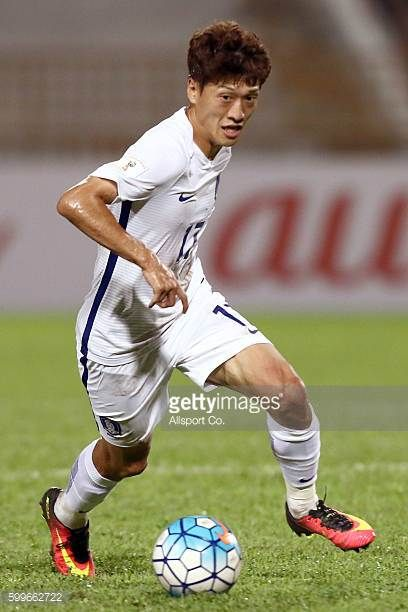 Koo Ja Cheol of South Korea in action during the 2018 FIFA World Cup Qualifier Final Round Group A match between Syria and South Korea at The Tuanku...