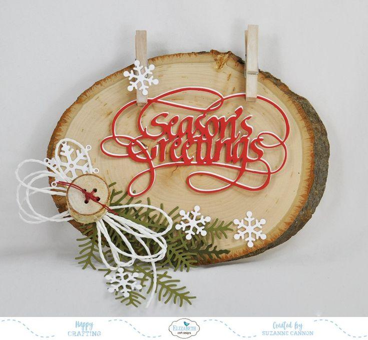 Season's Greetings Home Decor