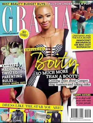 SA Media Personality Boity Thulo covers the latest issue of Grazia South Africa - http://www.thelivefeeds.com/sa-media-personality-boity-thulo-covers-the-latest-issue-of-grazia-south-africa/
