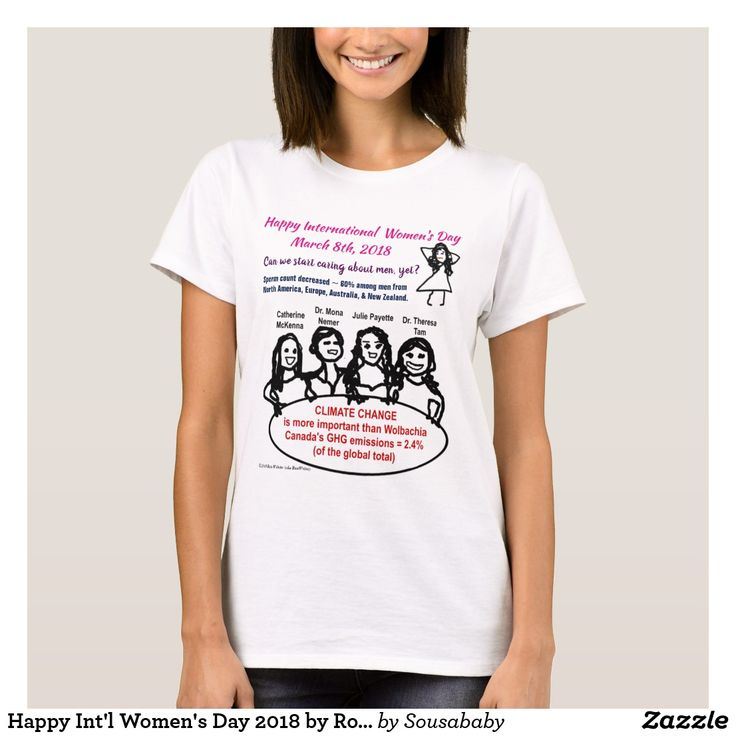 Happy Int'l Women's Day 2018 by RoseWrites T-Shirt