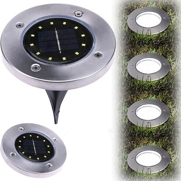 Led Solar Power Buried Light Ground Lamp Outdoor Path Way Garden Decking Home Decor In 2020 Outdoor Path Lighting Outdoor Path Solar Powered Lights