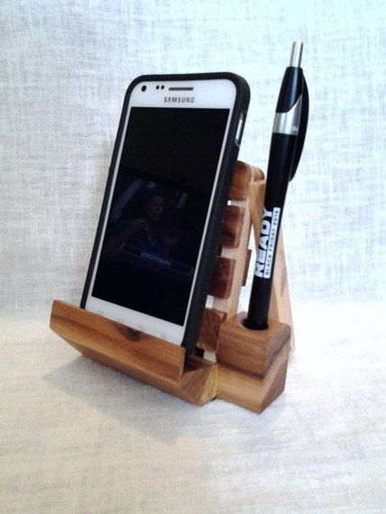 Iphone Or Android Smartphone Pallet Wood By