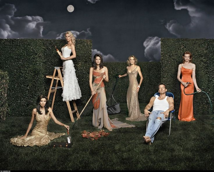 cast - desperate housewives