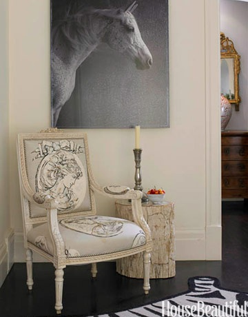 Foyer / My horse painting