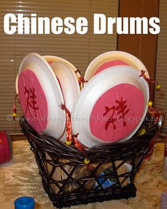 Around the World: Asia Chinese New Year craft idea.  -Repinned by Totetude.com