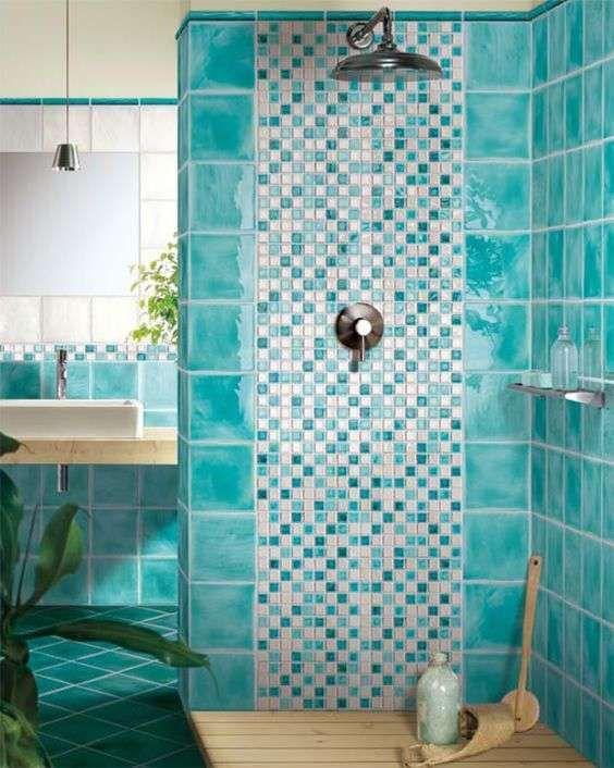 Oltre 25 fantastiche idee su bagno turchese su pinterest - Arredo bagno verde ...