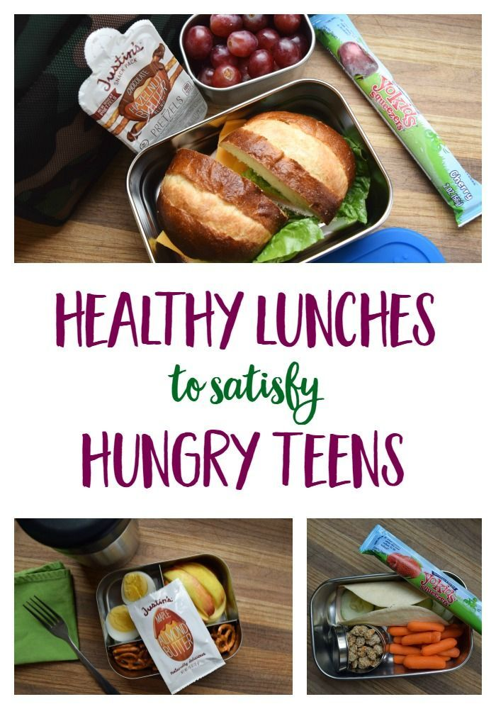 The trick to packing healthy lunches that will satisfy hungry teenagers all day long! | healthy eating | school lunch ideas | Mindful Momma